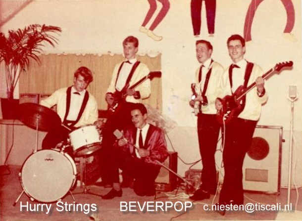 de Hurry Strings in 1962