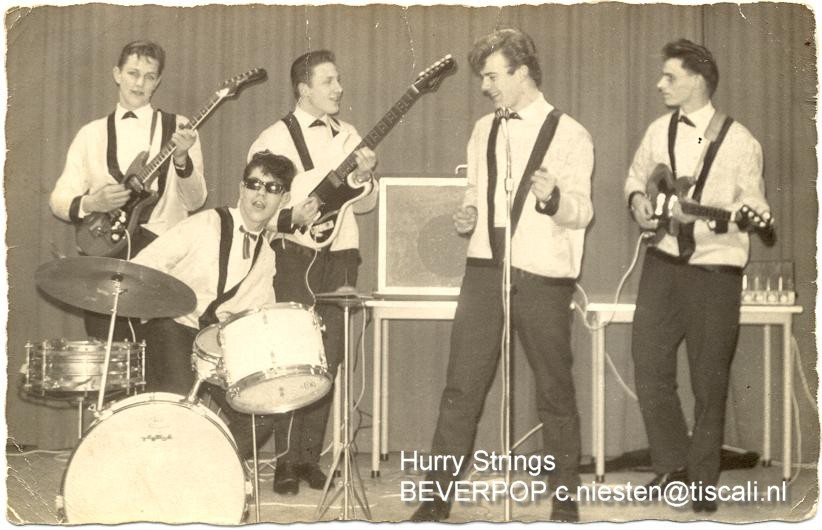 de Hurry Strings in 1963