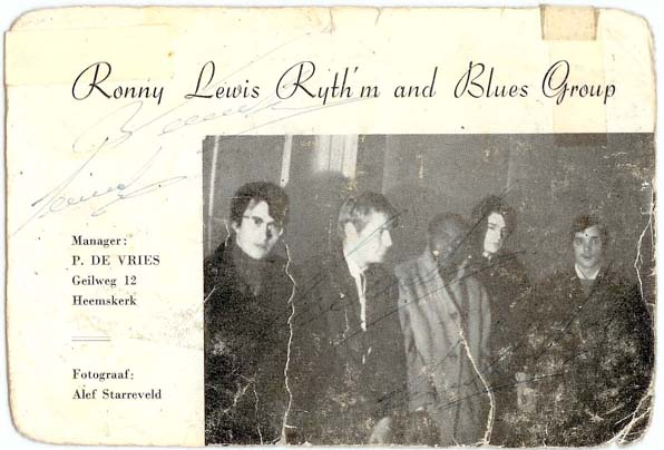 Ronnie Lewis R&B Group
